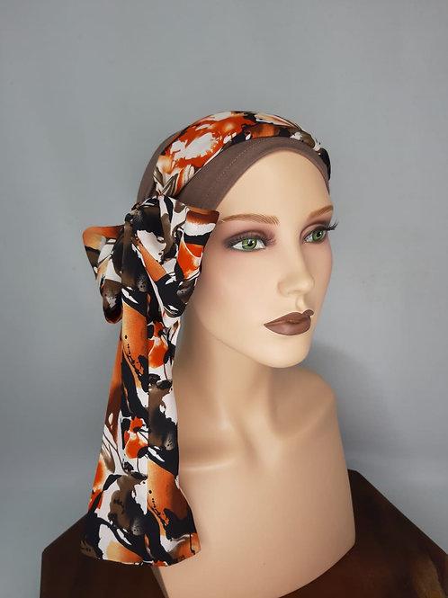 turbante,gorrita,pañuelo para calvicie temporal o definitiva