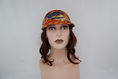 extensiones cortina para turbante ,sirve para disimular una alopecia ,color castaño