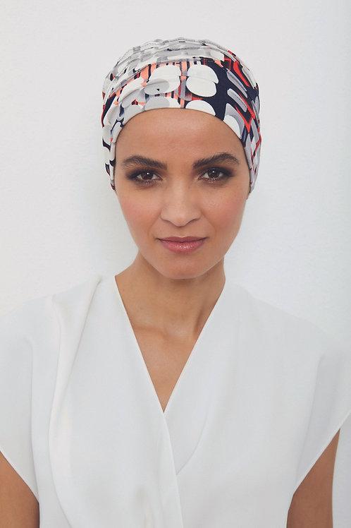 turbante en tela de bamú para piel sensible