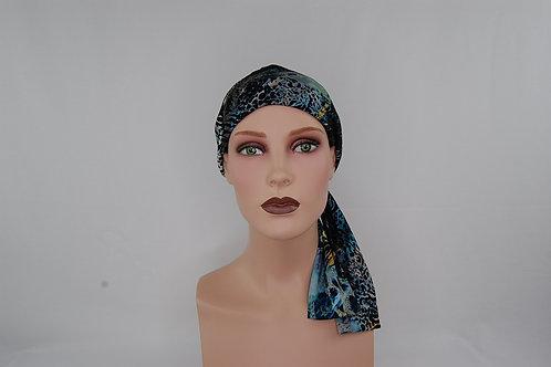 turbantes modernos en tela de bambú especial para casos oncológicos