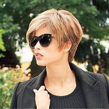 pelucas de fibra sintética alta calidad