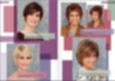 pelucas indetectables  cortas de colores castaños rojizos y rubios con iluminación, indetectables para mujeres.