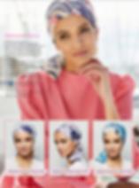 Turbante Oncológico en tla de bambú,Su diseño esta especialmente creado para cubrir todas las zonas afectadas por la alopecia causada por los tratamientos de quimioterapia y radioterapia.