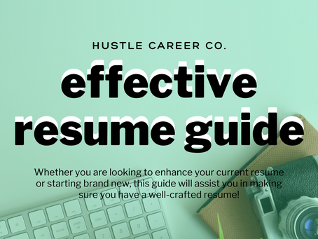 Quick & Easy Resume Guide
