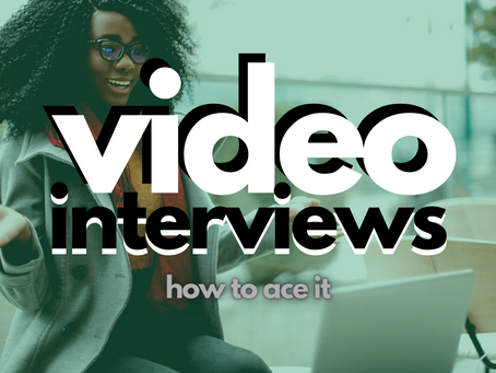 How to Ace the Video Interview