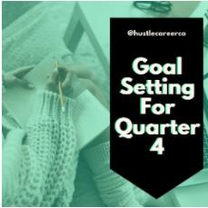 Goal Setting for Q4