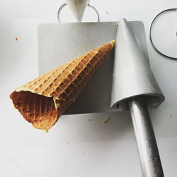 How about a waffle cone?