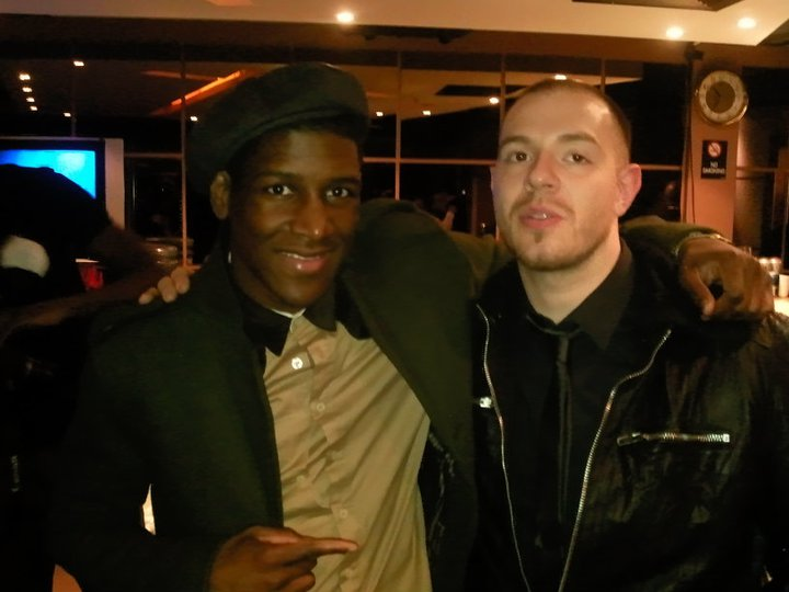 Met Labrinth _ the IndigO2, top dude!