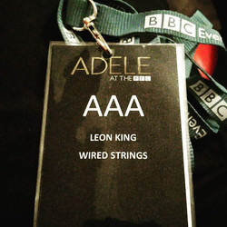 Was great to be apart of Adele's 2 year break on the bbc special.. And a member of the LVC choir