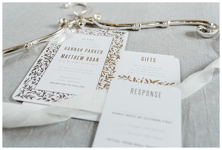 Basic Invite Silver Wedding Invitation
