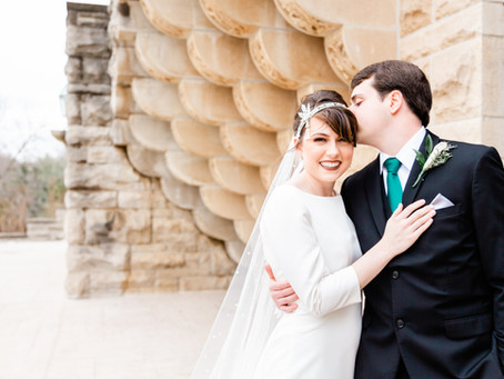 Claire and Titus | Wedding at the Marland Mansion in Ponca City, OK