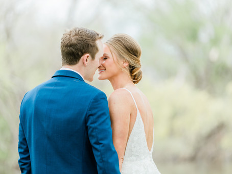 Breiahna and Hunter | Wedding at Rustic Rose Barn Guthrie, OK