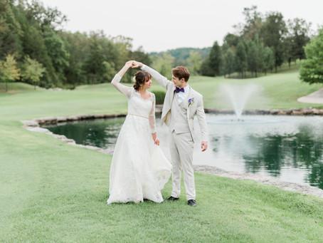 Ali and Nathaniel - Wedding at Ledgestone Country Club, Branson West, Missouri