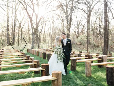 Sierra & Matthew | Wedding at Merrick Hollow in Merrick, Oklahoma