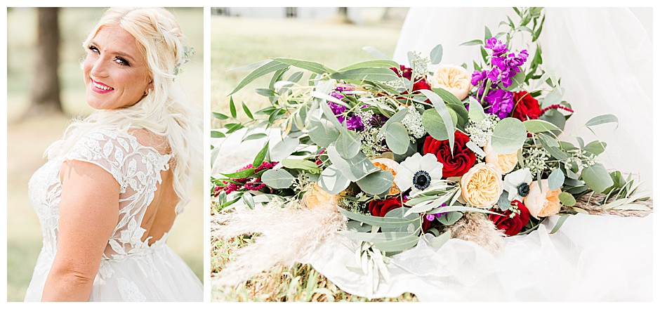Wedding Bouquet Rustic Rose Tecumseh, Oklahoma