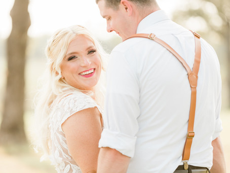Danielle and Kevin - Wedding at Southern Cedars in Earlsboro, OK