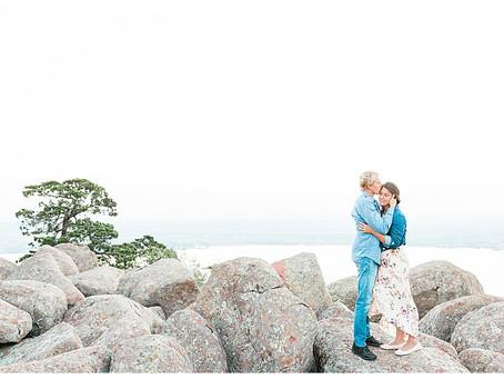 Katie & Lincoln - Mt. Scott Sunrise Engagement Session