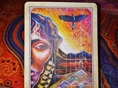 Earth Warriors Oracle Card Pull Circle Cross of Tenan
