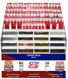 K&S Combo Display Rack #8000