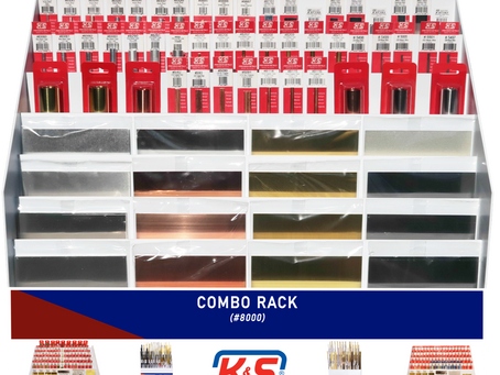 K&S Combo Display Rack #8000