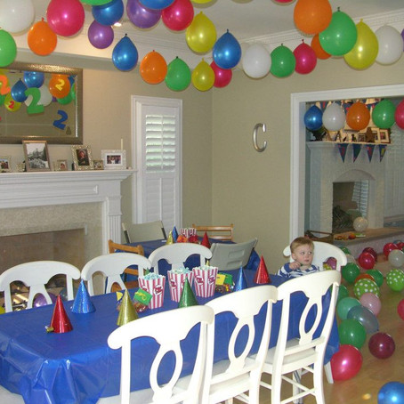 He Never Wanted Balloons; I Did