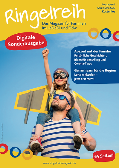 Ringelreih Magazin Familienmagazin Digitale Sonderausgabe LaDaDi Odw