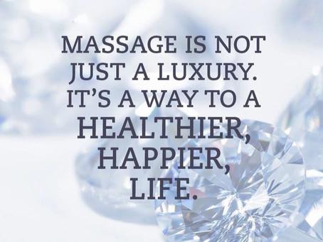 Wat doet een massage eigenlijk met je, behalve dan dat het gewoon heel fijn is natuurlijk  :)