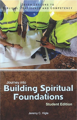 Digital PowerPoint® Journey Into Building Spiritual Foundations - Youth (KJV)