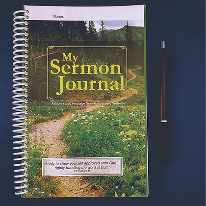 My Sermon Journal