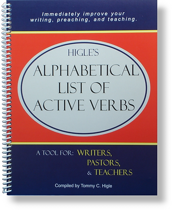 Higle's Alphabetical List of Active Verbs