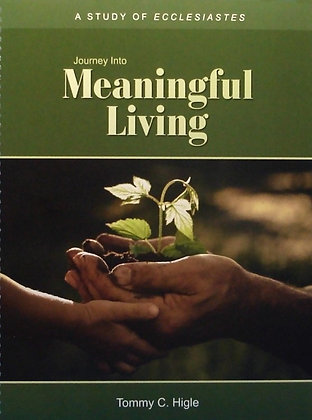 Journey Into Meaningful Living (Ecclesiastes)