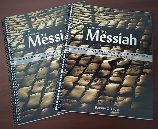 Journey with the Messiah - Two book set (Gospel of Matthew)