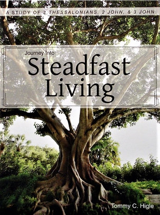 Journey Into Steadfast Living (2 Thessalonians, 2 John, 3 John)