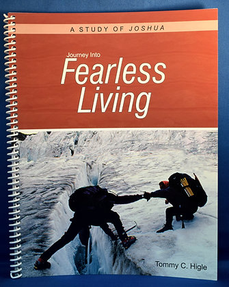 Journey Into Fearless Living (Life of Joshua)