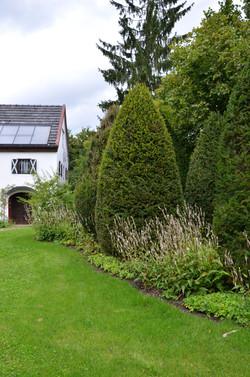 Privatgarten in Trostberg