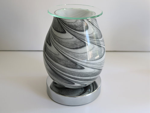 Grey Marble - Glass Touch Sensitive Aroma Lamp