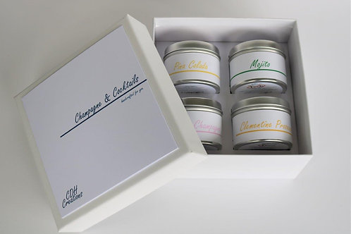 Candle Taster Tin - Gift Set - CDH Design