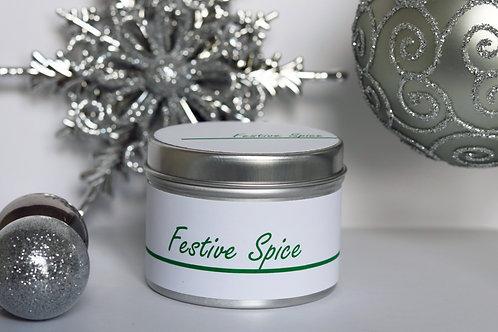 Festive Spice Candle Taster Tin - CDH Design