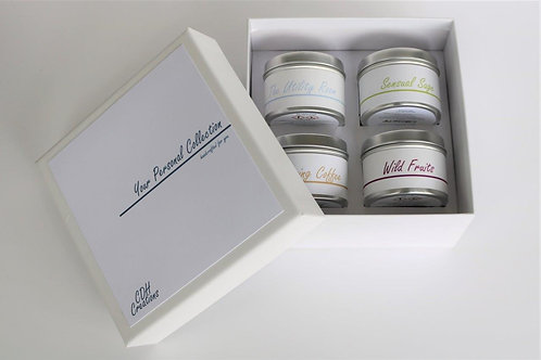 Candle Taster Tin - Gift Set - Your Personal Collection