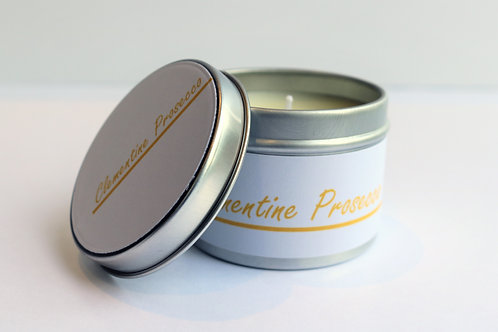 Clementine Prosecco Candle Taster Tin - CDH Design