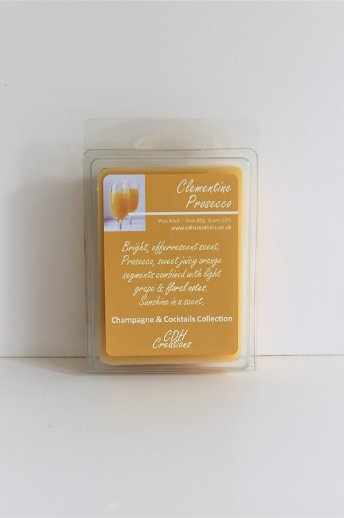 Clementine Prosecco - Wax Melt