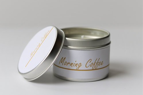 Morning Coffee Candle Taster Tin - CDH Design