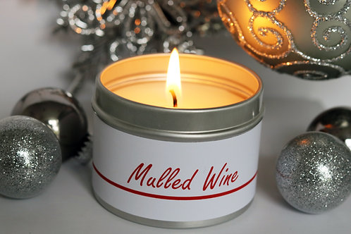 Mulled Wine Candle Taster Tin - CDH Design
