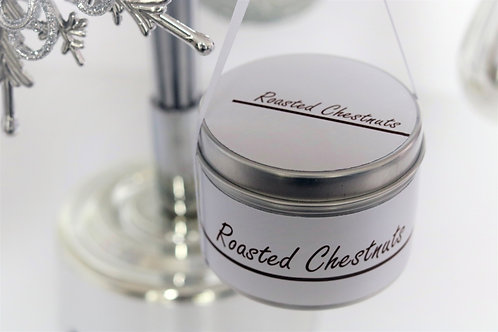 Roasted Chestnuts Candle Taster Tin - CDH Design
