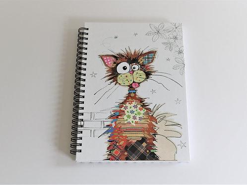 Ziggy Cat A5 Hardback Notebook