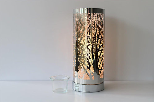 Metal Touch Sensitive Aroma Lamp - Forest
