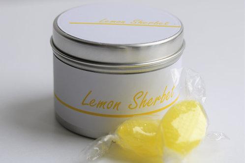 Lemon Sherbet Candle Taster Tin - CDH Design