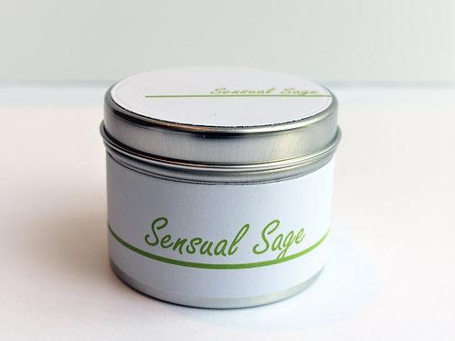 Sensual Sage Candle Taster Tin - CDH Design