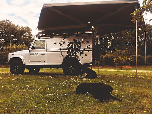 Land Rover Discovery Mobile Bar