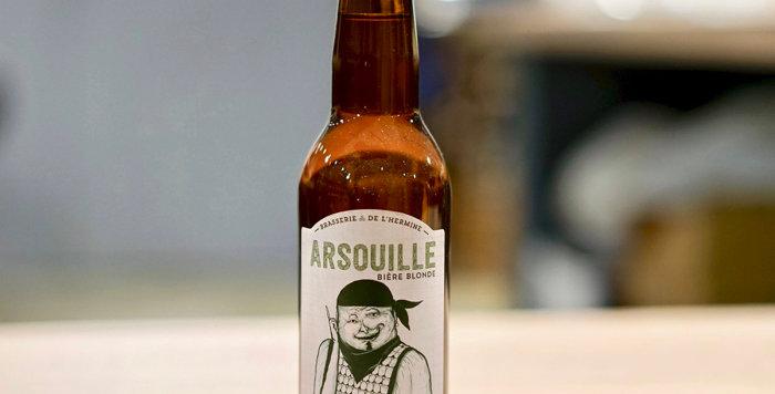 Arsouille - Brasserie de l'Hermine - Ambrée - 33cl